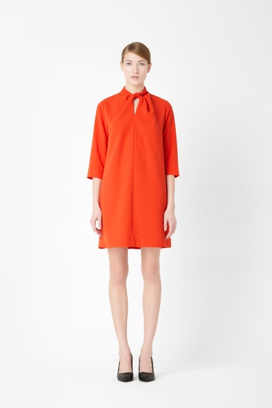 Elegant minimalism in Bright Orange from COS for €70