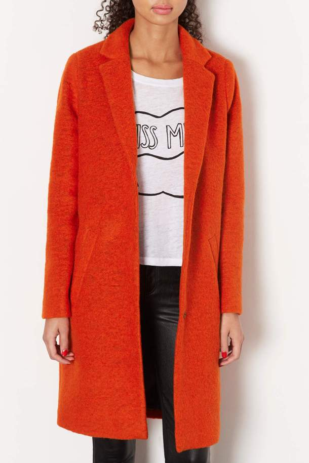 Stunning coat also from Topshop for €127