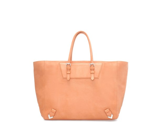 Travel light in this Pale Orange handbag from Zara
